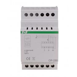 Filtr przeciwzakłóceniowy z układem przeciwprzepięciowym OP-230