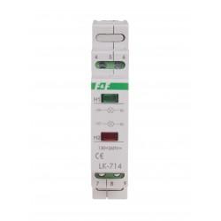 Signal lamp LK-714 5÷10 V AC/DC