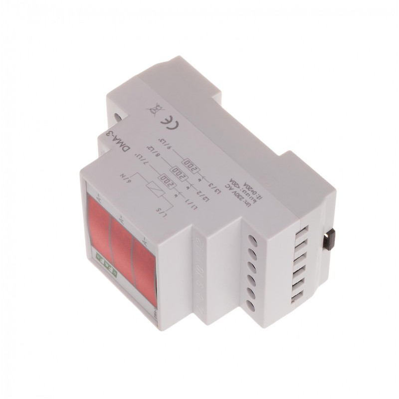 Current Intensity Indicator Dma-3 - F U0026f