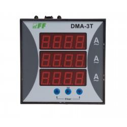 Wskaźnik natężenia prądu panelowy i trójfazowy DMA-3T