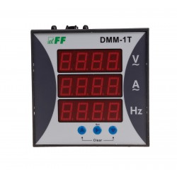 Cyfrowy i jednofazowy wskaźnik DMM-1T