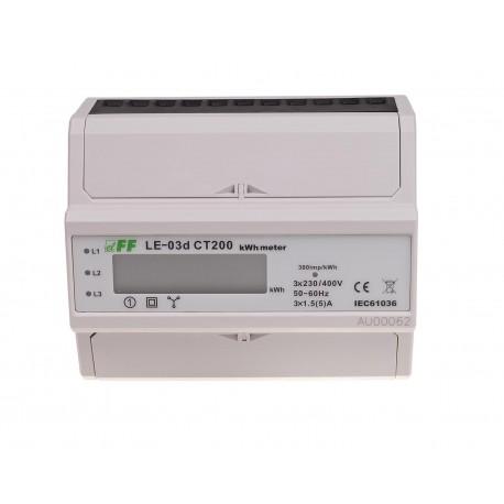 Licznik zużycia energii LE-03d CT200