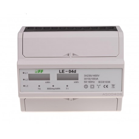 Electricity consumption indicator LE-04d
