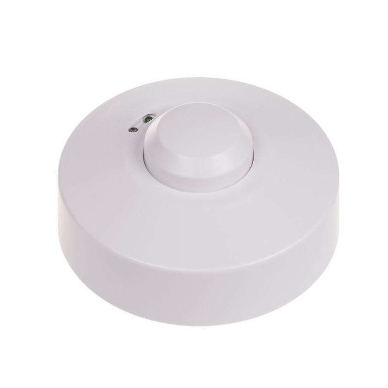 F/&f DRM-02 Motion Detector Microwave 360 degree 230V 2000Lx 5A IP40 5,8 GHz LED