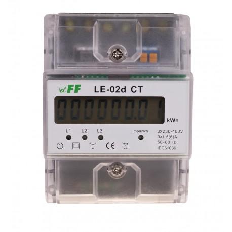 Licznik zużycia energii LE-02d CT