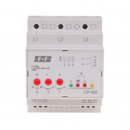 Przekaźnik napięciowy CP-500 bez przewodu neutralnego