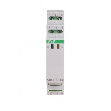 Measurement temperature transducer MB-PT-100