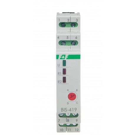 Sekwencyjny przekaźnik bistabilny BIS-419