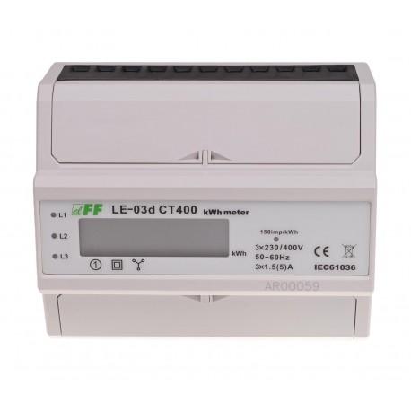 Licznik zużycia energii LE-03d CT400