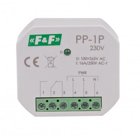 Przekaźnik elektromagnetyczny PP-1P 230 V