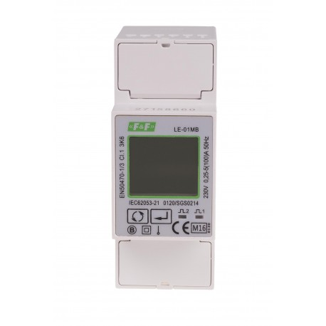 Electric energy meter LE-01MB