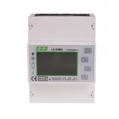 Jednofazowy lub trójfazowy licznik zużycia energii LE-03MQ