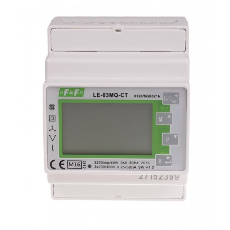 Electric energy meter LE-03MQ CT