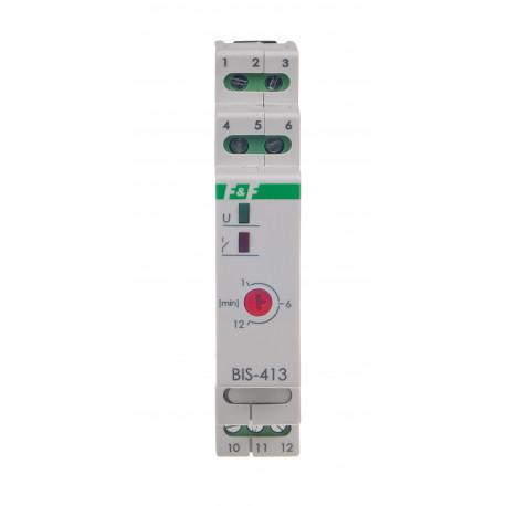 Przekaźnik bistabilny z wyłącznikiem czasowym BIS-413 24V