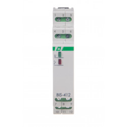 Electronic bistable impulse relay BIS-412-LED-24 V