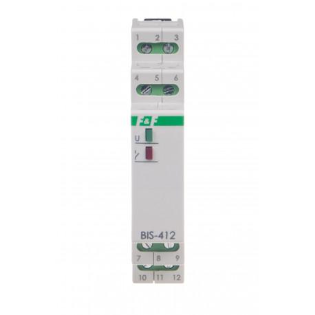grupowy (hotelowy) przekaźnik bistabilny BIS-412-LED- 24 V do świetlówek LED