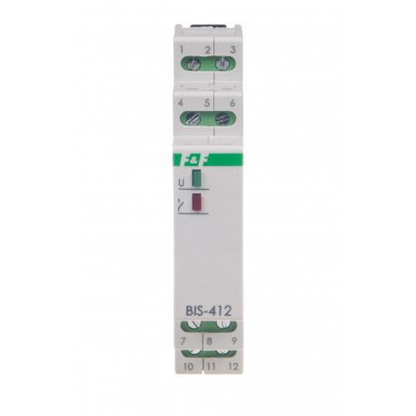 Przekaźnik bistabilny BIS-412i 24 V
