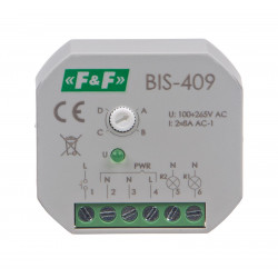 Electronic bistable impulse relay BIS-409