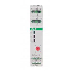 Sekwencyjny przekaźnik bistabilny BIS-419-LED także do świetlówek LED