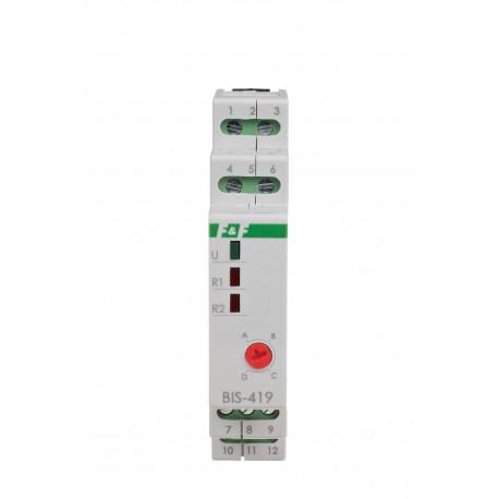 Sekwencyjny przekaźnik bistabilny BIS-419-LED- 24 V