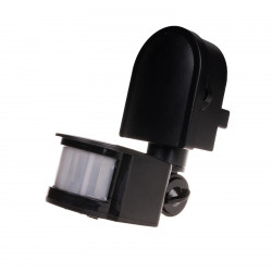 Infrared motion sensor DR-05 B black 24 V