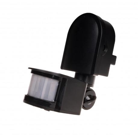 Pasywny czujnik ruchu na podczerwień DR-05 B 24 V czarny