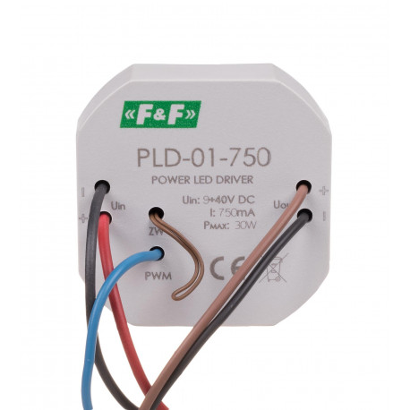 Zasilacz stałoprądowy LED mocy PLD-01 750