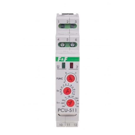 Przekaźnik czasowy PCU-511 DUO z opóźnionym wyłączeniem i załączeniem