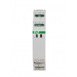 Programowalny przekaźnik czasowy PCS-533 z komunikacją bezprzewodową NFC