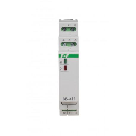 Przekaźnik bistabilny BIS-411M-LED- 24V z pamięcią pozycji styku do żarówek LED