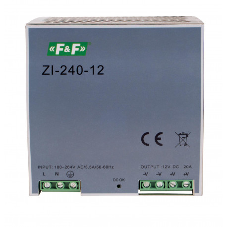 Pulse power supply ZI-240-12