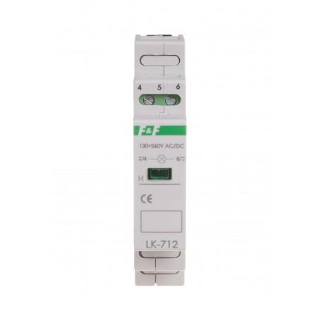 Signal lamp LK-712G 130÷260 V AC/DC