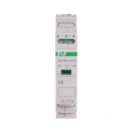 Signal lamp LK-712Y 5÷10 V AC/DC