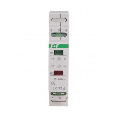 Signal lamp LK-714 30÷130 V AC/DC