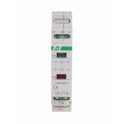 Lampka sygnalizacyjna LK-714 130÷260 V AC/DC