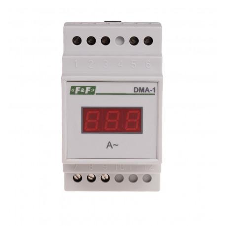 Jednofazowy wskaźnik natężenia prądu DMA-1 TrueRMS
