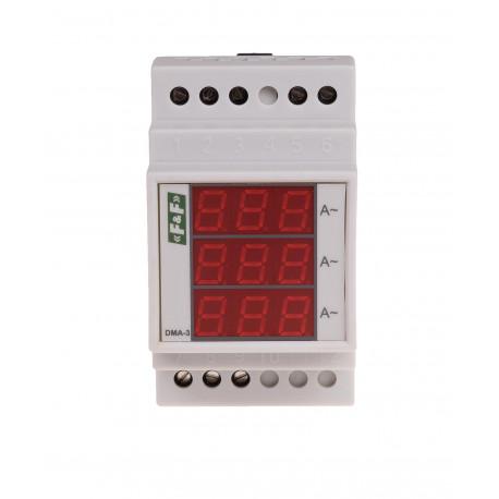Wskaźnik natężenia prądu DMA-3 TrueRMS