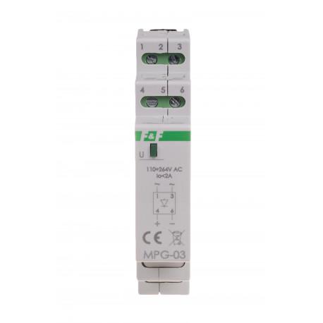 Mostek prostowniczy MPG-03 230 V