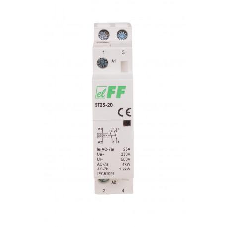 elektromagnetyczny stycznik modułowy ST25-20