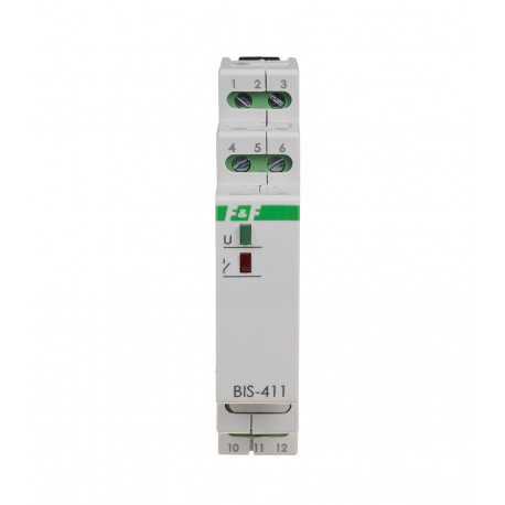 Przekaźnik bistabilny BIS-411M 230V z pamięcią styku