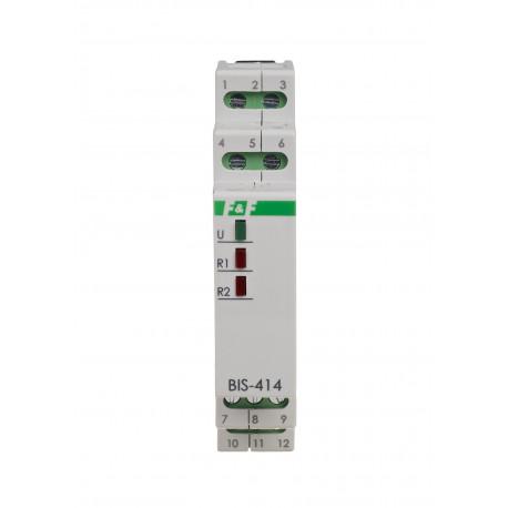 Electronic bistable impulse relay BIS-414i 24 V