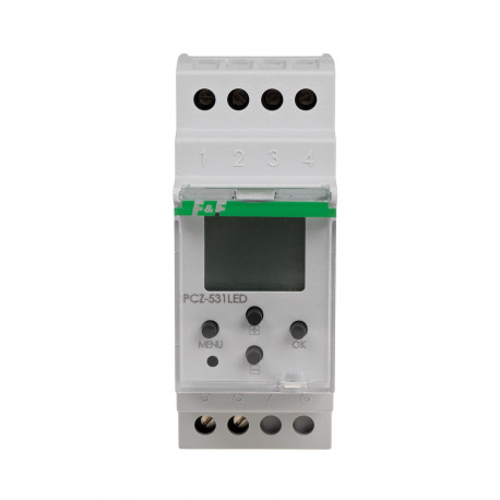 Programmable cotrol timer - weekly PCZ-531LED