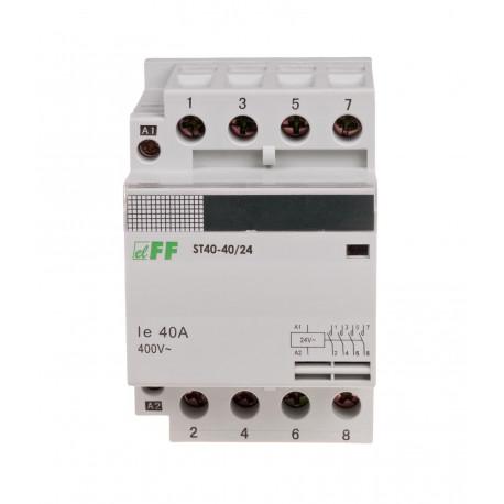 Stycznik modułowy ST40-40 24 V