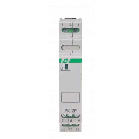 Electromagnetic relay PK-2P 230 V
