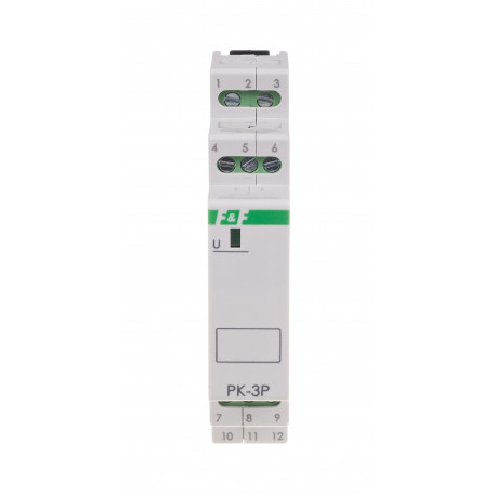 Electromagnetic relay PK-3P 230 V