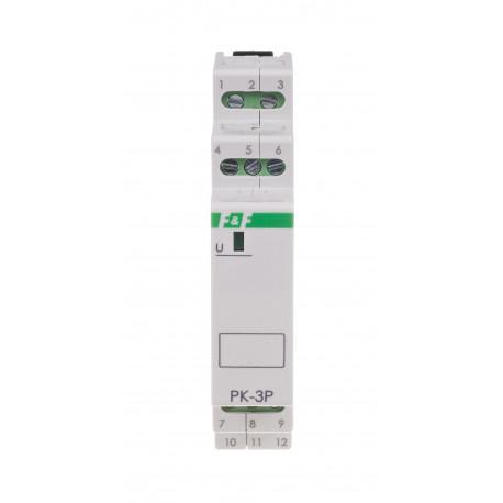 Przekaźnik elektromagnetyczny PK-3P 230 V