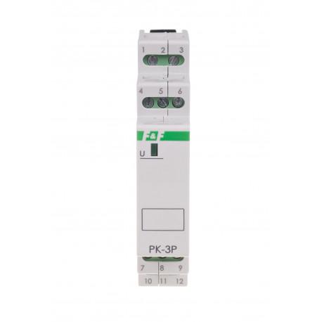 Electromagnetic relay PK-3P 24 V