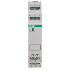 Electromagnetic relay PK-3P 12 V