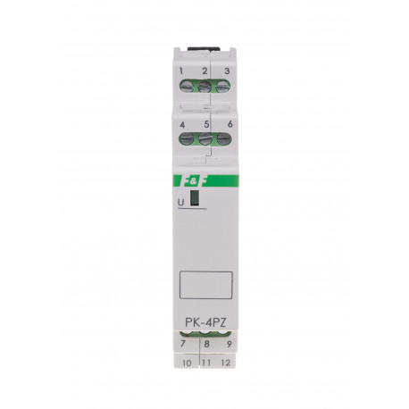 Electromagnetic relay PK-4PZ 230 V