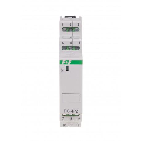 Electromagnetic relay PK-4PZ 110 V